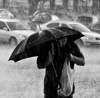 На Закарпатті 16 та 17 жовтня очікують сильні дощі