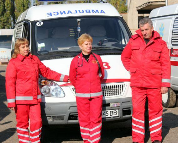 У закарпатських лікарів швидкої допомоги нова форма (ФОТО)