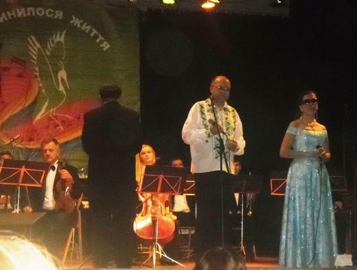 Для музики немає ніяких перепон - довели незрячі виконавці на концерті у Мукачеві