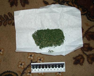 Мукачівські розшуковики затримали 18-річного юнака з марихуаною