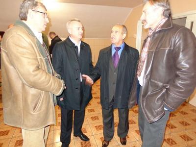 Чеський посол відвідав Пункт тимчасового розміщення біженців у Мукачеві