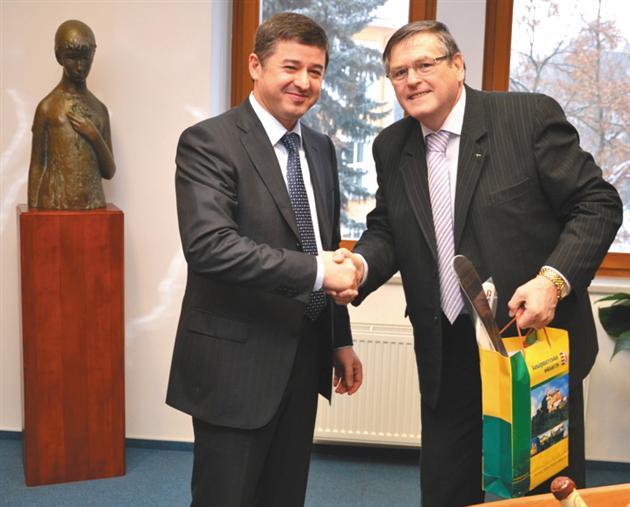 Закарпаття і надалі буде співпрацювати із чеською Височиною