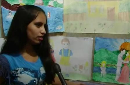 Діти біженців малювали своє майбутнє (ВІДЕО)