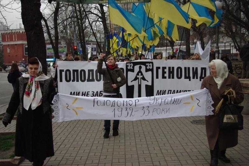 """""""Свобода"""" вшанує жертв Голодомору як в Ужгороді так і в Мукачеві"""