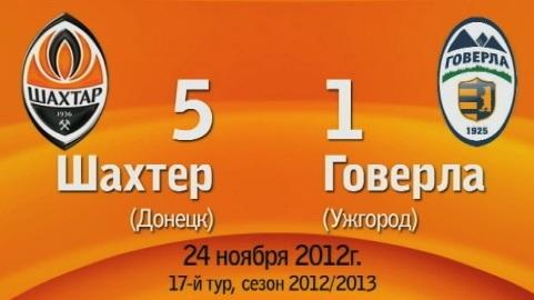 "ФК ""Говерла"" зганьбилась в Донецьку 1:5"