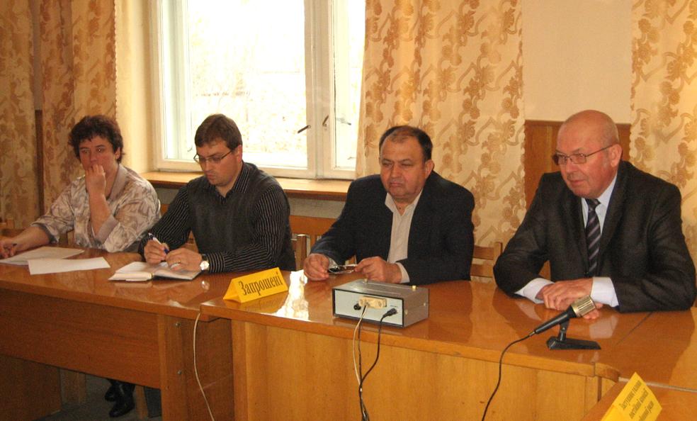 Засідала бюджетна комісія Берегівської райради