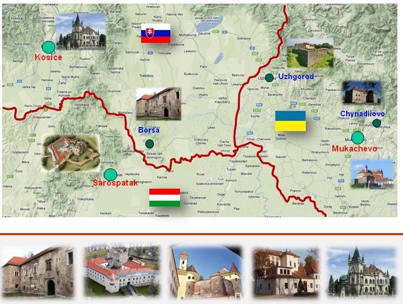 Закарпаття, Словаччина та Угорщина розробляють новий туристичний маршрут