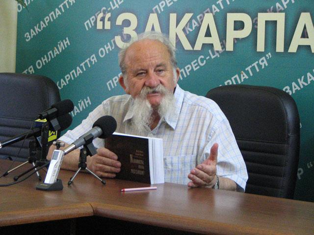 Микола Мушинка презентував в Ужгороді фільм, який знімався братиславським телебаченням