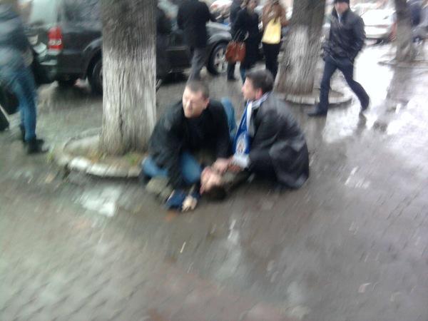 В Ужгороді хуліганять фанати київського Динамо