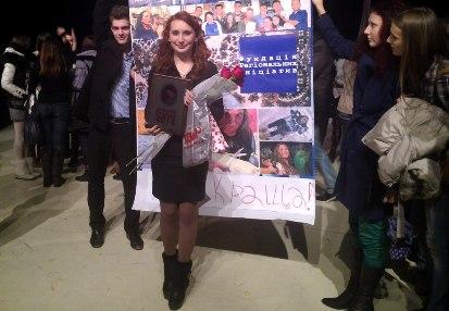 В Ужгороді обрали найкращу студентку Закарпаття