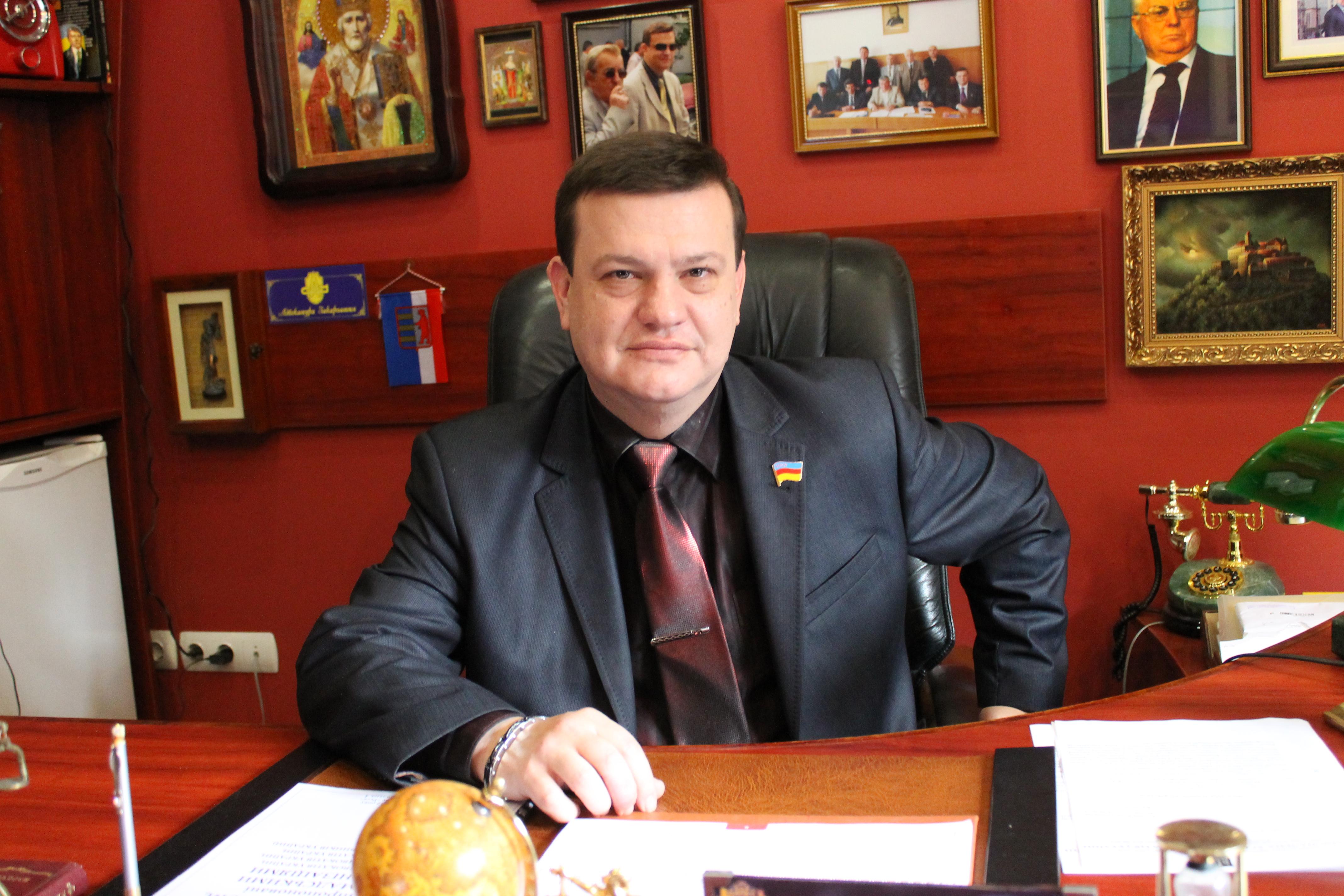 Голова Національної асоціації Адвокатів України привітала Олексія Фазекоша з ювілеєм