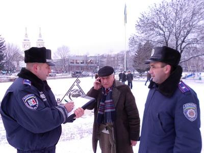 На Іршавщині міліціонери проводили профілактику злочинів