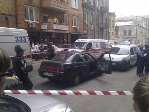 У перестрілці в центрі Львова було вбито чоловіка