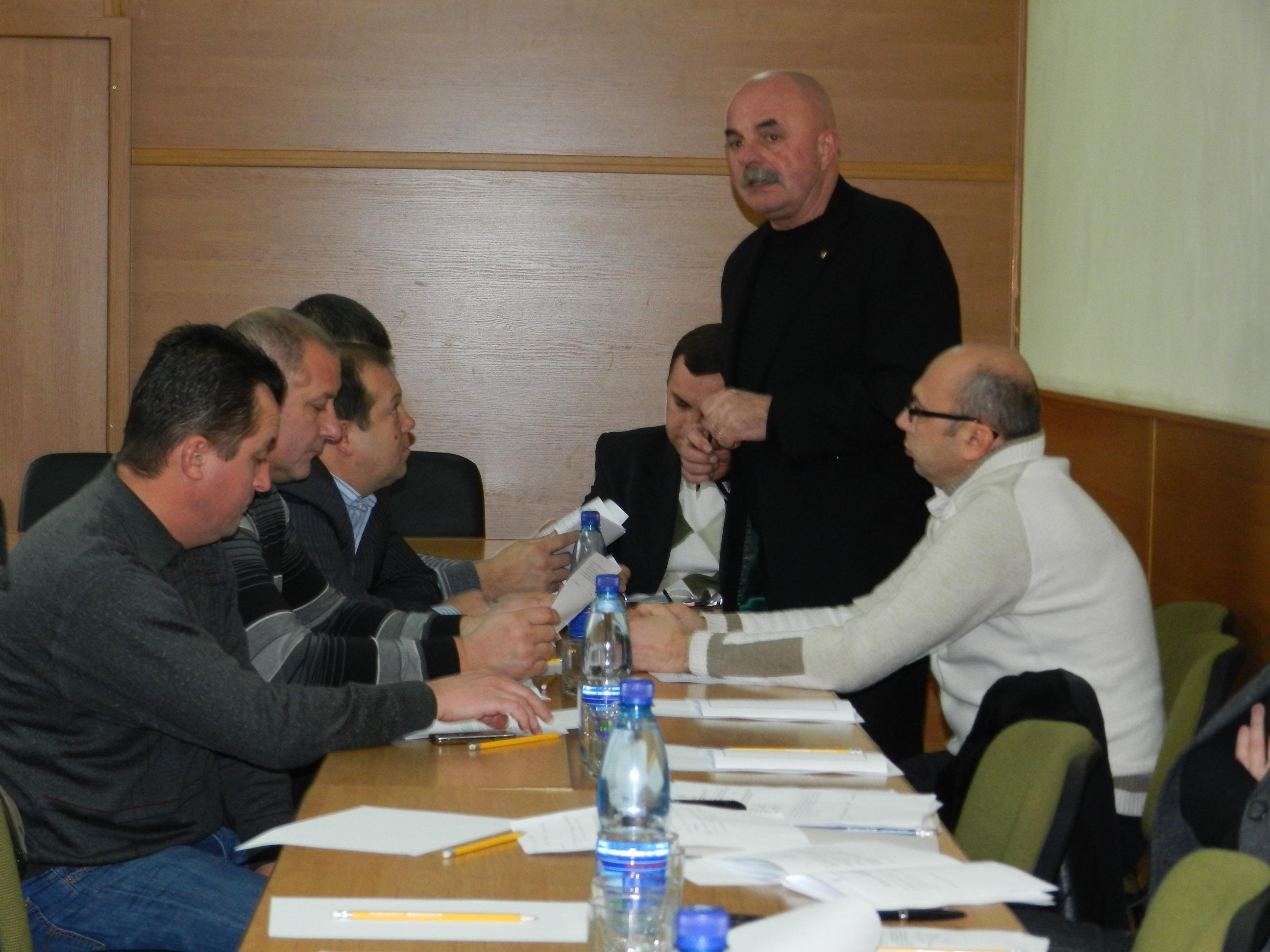 Депутати Мукачівської районної ради провели засідання