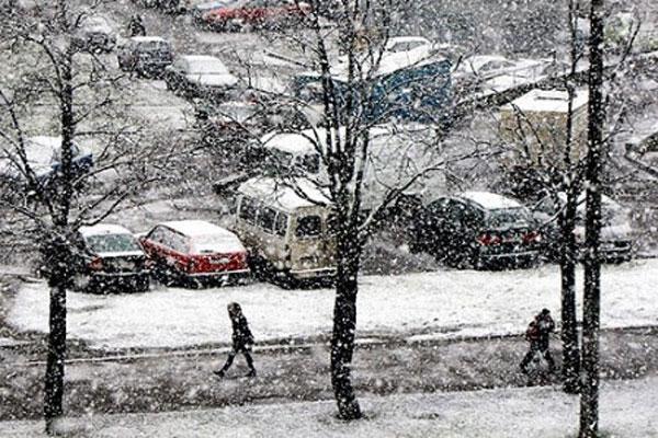 На Закарпатті очікується сильний сніг 15 та 16 грудня