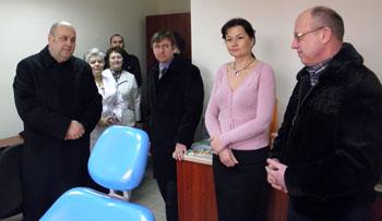 Завдяки фахівцям УжНУ у дитячій поліклініці Ужгорода діятиме стоматкабінет