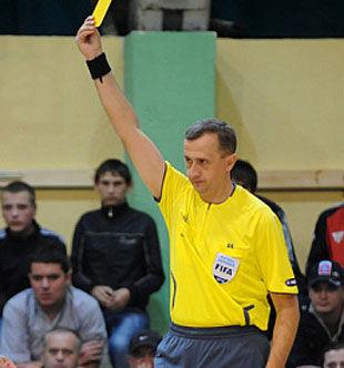 Арбітр з Мукачева судитиме відбірні поєдинки Чемпіонату Європи з футзалу