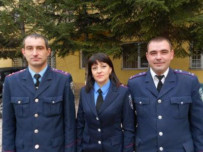 Міліціонери врятували малолітніх дітей