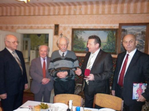 Почесний громадянин Мукачева відсвяткував свій поважний 90-річний ювілей (ФОТО)