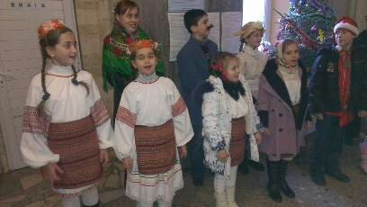 Колядники завітали й до Мукачівського міського відділу міліції (ФОТО)