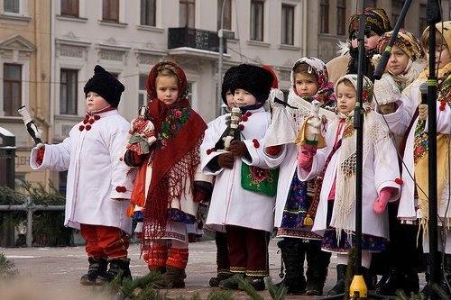 В Ужгороді відбувся конкурс вертепів (ВІДЕО)