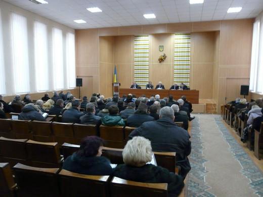 У приміщенні Мукачівської РДА ветеринари з усієї області підбивали підсумки роботи за рік