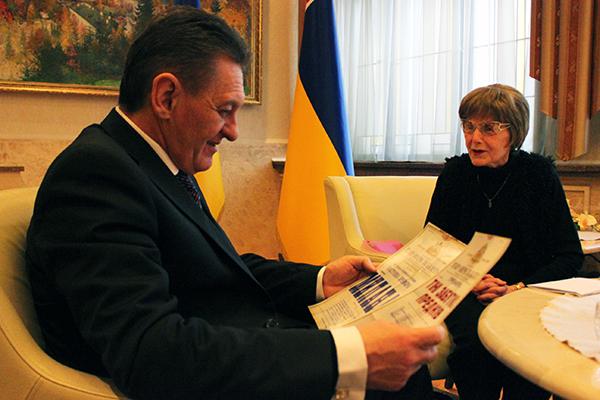 Олександр Ледида зустрівся з народною артисткою України Кларою Балог (ФОТО)