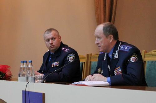 Генерал-майор Варцаба представив нового начальника міліції громадської безпеки