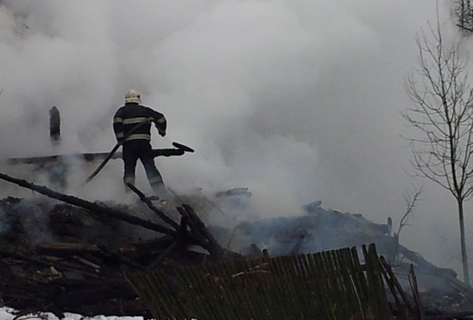 У Рахівському районі в пожежі загинула 73-річна бабуся (ФОТО)
