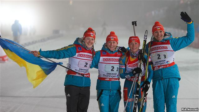 Олена Підгрушна – чемпіонка світу з біатлону, Віта Семеренко стала третьою