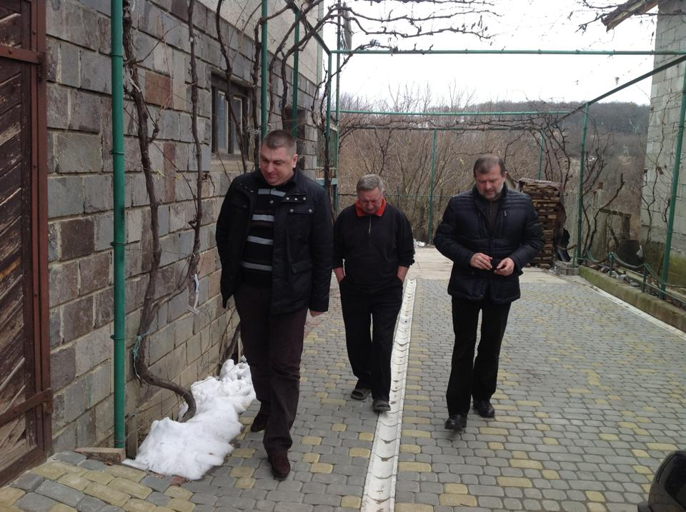 Ілля Токар разом із Віктором Балогою побували у місцевого підприємця з села Кендерешів (ФОТО)