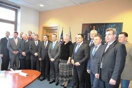 Закарпатська делегація у Чехії стала свідком суботнього тріумфу українських біатлоністок (ФОТО)