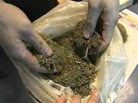 Затримано 55-річного рахівчанина з марихуаною в кишені
