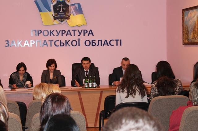 У прокуратурі Закарпаття для держслужбовців проведено семінар з питань діловодства