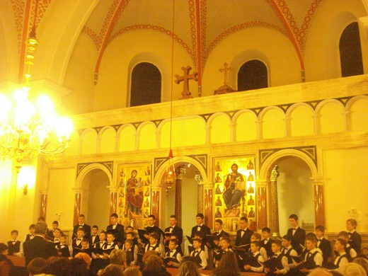 Хор хлопчиків та юнаків Мукачівської хорової школи з'їздив до Угорщини на запрошення колег (ФОТО)
