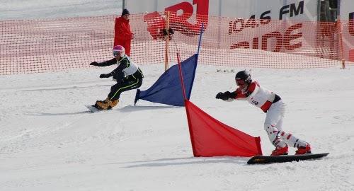 Закарпатські сноубордисти здобули золоті нагороди на відкритому Чемпіонаті України (ВІДЕО)