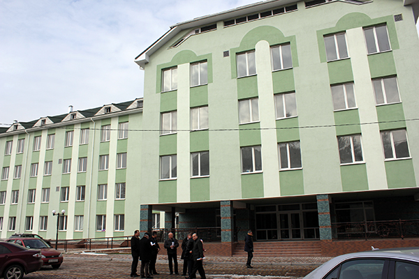 Будівництво хірургічного корпусу обласної лікарні перебуває на завершальній стадії (ФОТО)