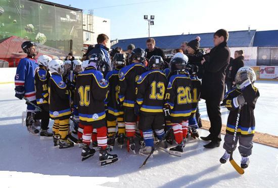 Вперше в історії Закарпаття за часів незалежності створено повноцінну дитячу хокейну команду