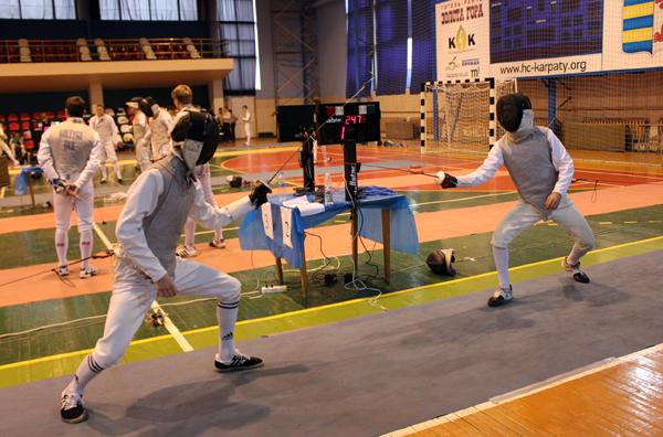 В Ужгороді відбудеться міжнародний турнір країн Карпатського Єврорегіону з фехтування