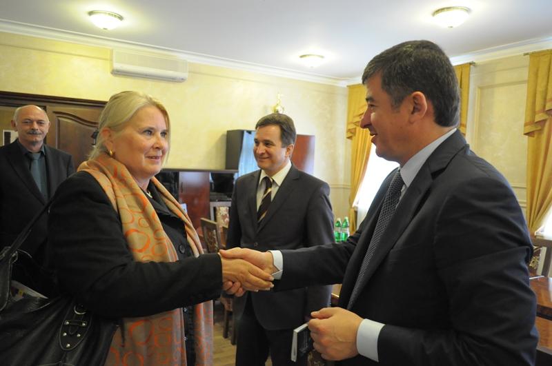 Надзвичайний і Повноважний Посол Фінляндії в Україні Ар'я Макконен зустрілась з Іваном Балогою