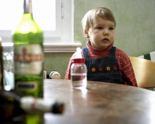 На Виноградівщині отруївся алкоголем 3-річний хлопчик
