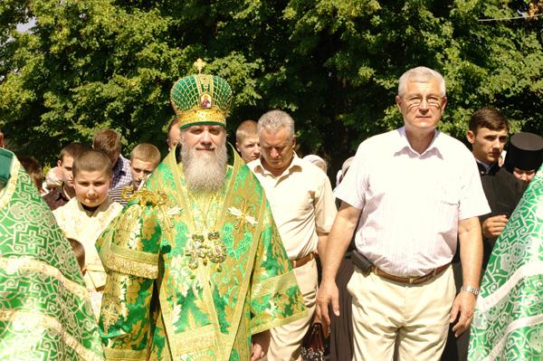 В Мукачівському монастирі вшанували пам'ять преподобного Моісея Угрина і 1025-річчя Хрещення Київської Русі