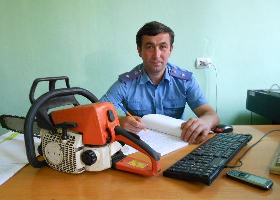 На Іршавщині міліція затримала викрадача бензопили (ФОТО)