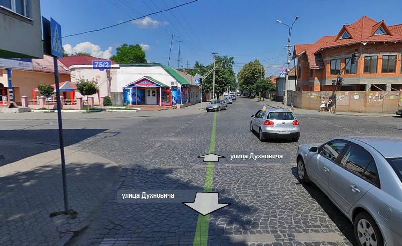 У Мукачеві на перехресті вулиць Духновича і Садова побудують кільцеву розв'язку (ВІДЕО)