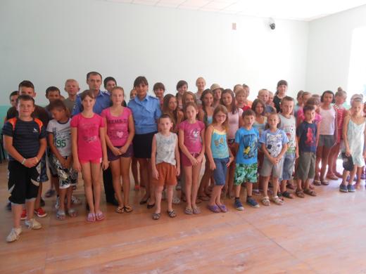 Правоохоронці Мукачівщини завітали до дитячого табору