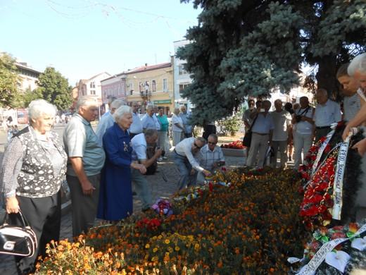 """У Мукачеві вшанували пам'ять розвідгрупи """"Закарпатці"""" та учасників партизанського руху (ФОТО)"""