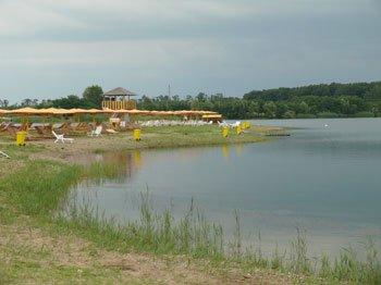Прокуратура організувала перевірку стану утримання озера на Берегівщині