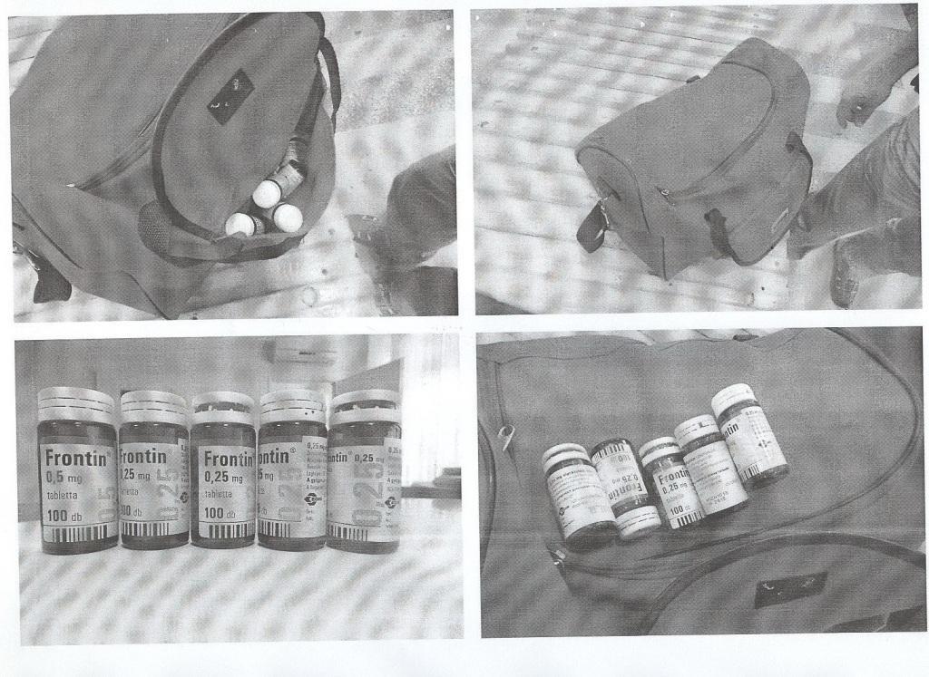 Чопські прикордонники затримали чоловіка з психотропними препаратами