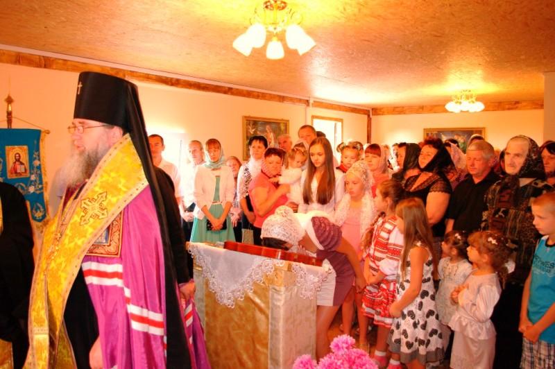 В селі Обава освячено новий Свято-Покровський храм