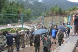 """НПП """"Синевир"""" відвідали працівники лісового господарства Чеської Республіки"""